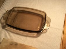 JUNK DRAWER GLASS CROCK POT COOKING LID KITCHEN APPLIANCE CLEAR BROWN TYPE MISC