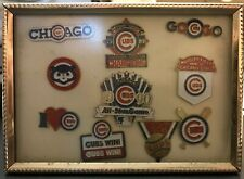 Chicago Cubs Hat Pin Collection Baseball Wrigley Field World Series 1945 1989-90
