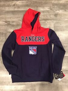 New York Rangers Reebok Hoodie Youth Large