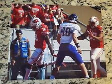 Natrell Jamerson signed 8x10 photo Wisconsin Badgers Panthers autographed
