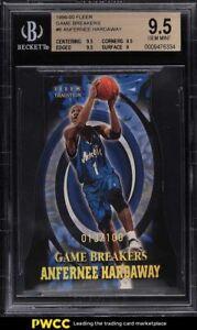 1999 Fleer Game Breakers Die-Cut Anfernee Hardaway /100 #6 BGS 9.5 GEM MINT