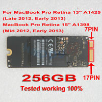 """256GB SSD MZ-DPC256T/0A2 For MacBook Pro Retina 15"""" A1398 2012 13"""" A1425 2013"""