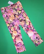 NEW! TCP Baby Girls Jeggings Pants 3T FLORAL Knit Church School Gift $16.95