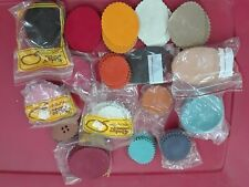 Sueded Leather Samples For Crafts (Over150 pieces)
