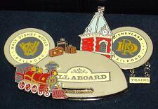 LE JUMBO Walt Disney Pin✿Mickey Mouse 50 Years Railroad Train Locomotive RARE LE
