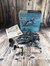 VINTAGE 1973 MONOGRAM SNAP TITE FLAP JACK MODEL KIT-FOR PARTS