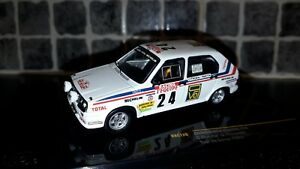 Citroen Visa Chrono Christian Dorche Tour de Corse 1983 1/43rd Ixo WRC Group B