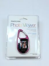 Memorex Photo Viewer Carabiner  Memories On The GO! Holds 50 Images