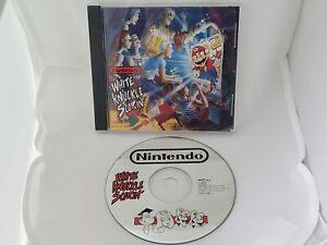 Nintendo Super Mario Bros White Knuckle Scorin' Music Album CD 1991 USA Release
