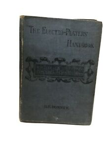 Electro Plating Gold The Electro Platers Handbook G.E.Bonney 3rd Edition 1898