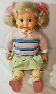 Vintage Cricket Doll in original clothes & shoes, excellent condition,  untested