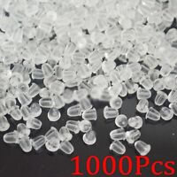 1000x Clear Soft Rubber Earring Back Stopper 5mm Wholesale Lots