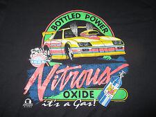 1992 IHRA International Hot Rod Association NITROUS OXIDE Bottled Power 2X Shirt