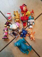 Random Children's Toys Action Figures Lot Sesame Street Mickey Mouse Skylanders