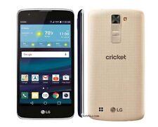 LG Escape 3 New  (Criceket) Unlocked smartphone (Gold/Blue)
