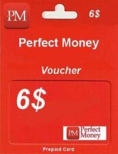 PERFECT MONEY | KOD | VOUCHER | USD 6$ | TOP SPRZEDAWCA | TANIO !