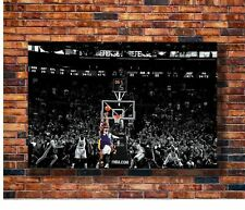 W324 Art Kobe Bryant last Ball Top Super Basketball Star 24x36in Poster Gift