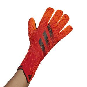 adidas Erwachsene Predator Pro Torwarthandschuhe rot/orange/schwarz [GL1529]