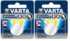 2 BATTERIE CR2025 alta qualità VARTA 3V LITIO  BR2025 KCR2025 5003L professional