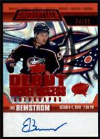 2019-20 Credentials Debut Ticket Access Auto Red  #RTAA-BE Emil Bemstrom RC /65