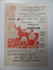 More details for wrexham v chester | 1958/1959 | div. 4 | 13 sep 1958 | uk freepost
