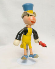 Collectible Jiminy Cricket Jointed Wooden Doll Ideal Toys Disneyana 1940's