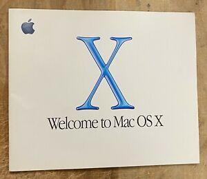 Apple Welcome to Mac OS X P/N: 034-1068-A
