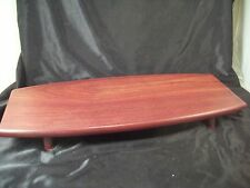 Cherry wood table top tray modern design hors d'oeuvres cheese/crackers dessert