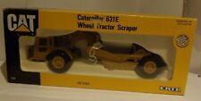 ERTL CATERPILLAR 631E WHEEL TRACTOR SCRAPER..MINT AND BOXED IN 1/50th SCALE