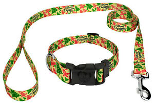 Country Brook Petz® Deluxe Christmas Cookies Dog Collar and Leash