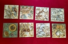 Noah'S Park Harmony Kingdom Picturesque Set of 8 tiles