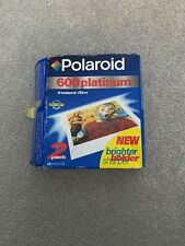 Polaroid 600 Platinium Film - Expired 8/1999
