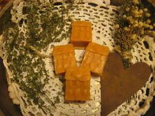 Primitive* Handmade* Buttercream Frosting Scented Tarts* Saltbox House*