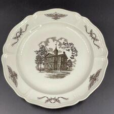 "Wedgwood ""Philadelphia� Collector Dinner Plates by John Wanamaker Set of 6"