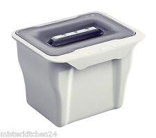 Bio Mülleimer Multifunktionsbehälter Abfallsammler Restebehälter 5L Kübel Küche