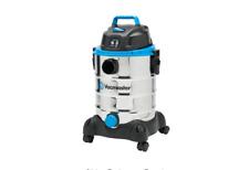 6 Gal Steel Wet Dry Shop Vacuum Cleaner Industrial Vac Heavy Duty w/ Wheels New