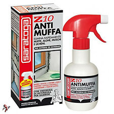 ANTIMUFFA SPRAY SARATOGA Z10 RIMUOVI ELIMINA MUFFA ALGHE SPRAY ANTIMUFFA 250ML