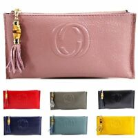 Women Designer Inspired Leather Purse Ladies Genuine Leather Zip Purses Wallet