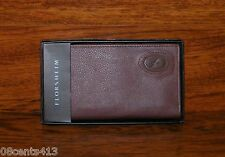 Florsheim Men's Wallet (Brown Leather) Checkbook Style & Includes Box! *READ*
