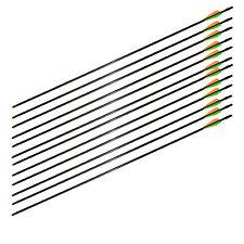 "1 Doz 12 Pcs 34 Inch 6.5 mm Fiberglass Compound bow arrows 34"" by ROBIN'S APPLE"
