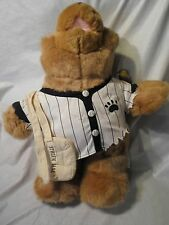"Sandlot Bears Stolen Base 16"" Baseball 1995 Push Soft Toy Stuffed Animal"