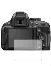 3 X Transparente Protectores De Pantalla Para Nikon D5200-Accesorio de cámara