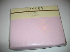 Ralph Lauren California King Bedskirt 450tc Supima Cotton Huntley Pale Pink New