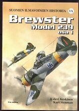 #1A  Finnish Air Force  , BREWSTER MODEL 239 vol 1  Keskinen & Stenman, sb