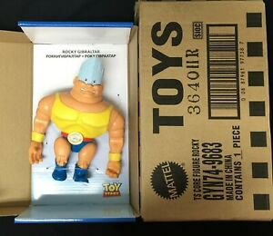 Toy Story Posable Rocky Gibraltar Action Figure Deadstock RARE Imported Box