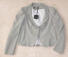 Basque Viscose Regular Solid Coats & Jackets for Women