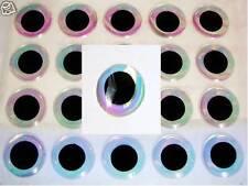 3d Mirage Eyes/occhi - 6 mm-self adhesive 3d-EYES (prezzo per PZ. € 0,14)