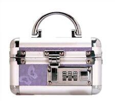 Lockable Case Adult Sex Toy Chest Storage Keyless Locking Privacy Box -Purple