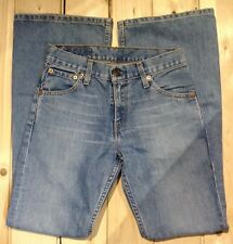 Levi 516 Bootcut Jeans W27 L32. ref 100131