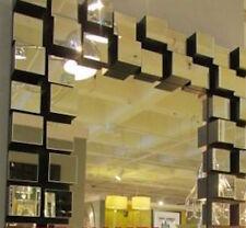 "42""  MODERN CUBIC Z Gallerie Style VENETIAN WALL VANITY Wall MIRROR New Large"
